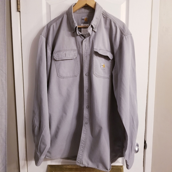 Carhartt Flame Resistant Button Down Shirt
